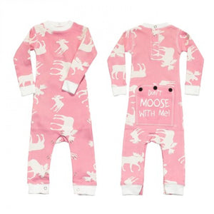 Pink Classic Moose - Infant Flapjacks