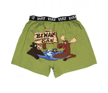Beware Natural Gas - Mens Boxers