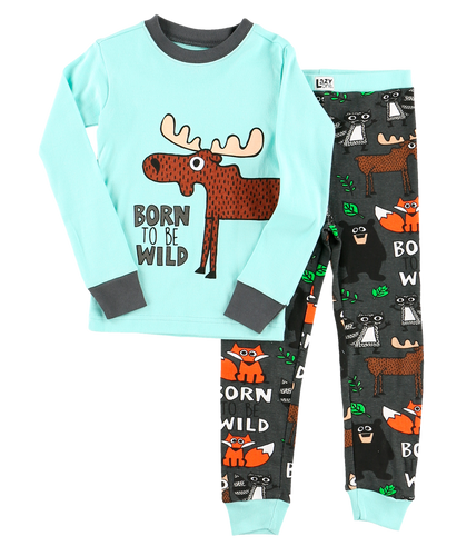 Born to be Wild - Kids PJ Set