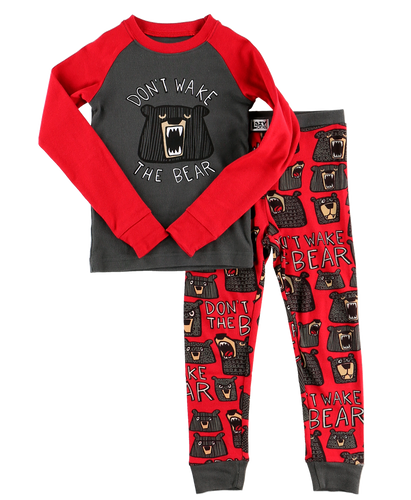 Wake the Bear - Kids PJ Set