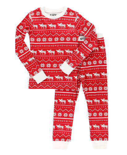 Nordic Moose - Kids PJ Set