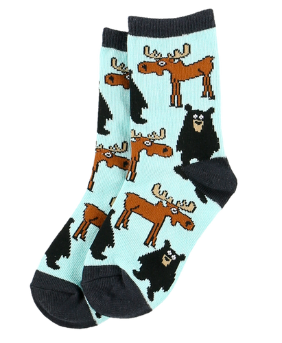 Born To Be Wild - Kids Socks