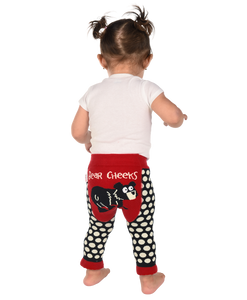 Bear Cheeks - Infant Leggings