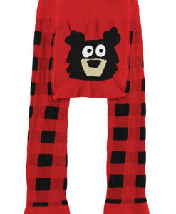Bear Plaid - Infant Leggings