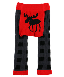 Moose Plaid - Infant Leggings