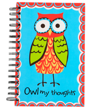 Load image into Gallery viewer, Owl My Thoughts - Note Book