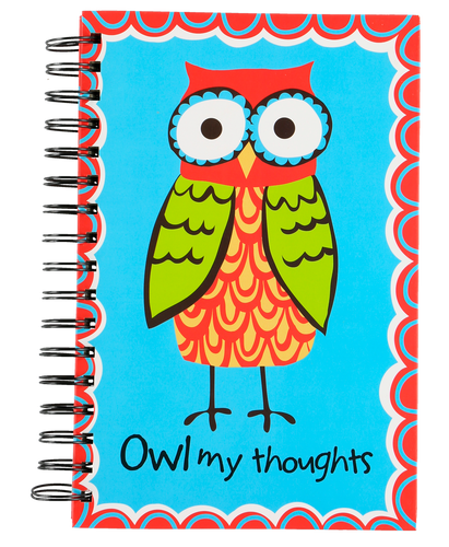 Owl My Thoughts - Note Book