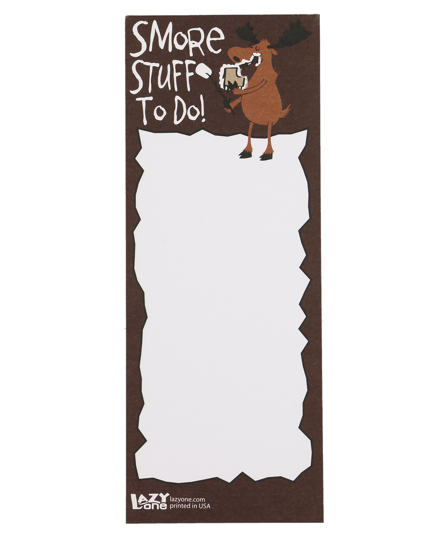 S'more Stuff To Do - Note Pad