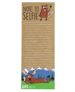 Note To Selfie - Note Pad