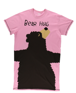 Bear Hug (Pink) - One Size Night Shirt
