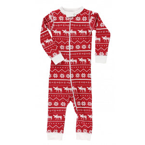 Nordic Moose - Infant Union Suit