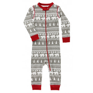 Nordic Bear - Infant Union Suit