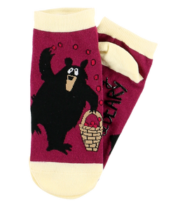 Huckle Beary - Slipper Socks