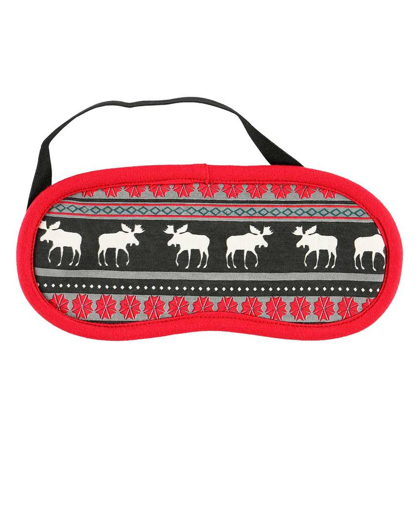 Moose Fair Isle - Sleep Mask