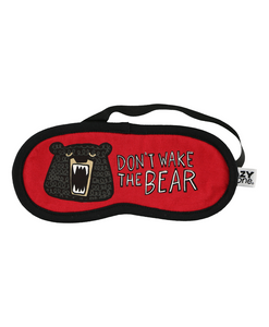 Wake The Bear - Sleep Mask
