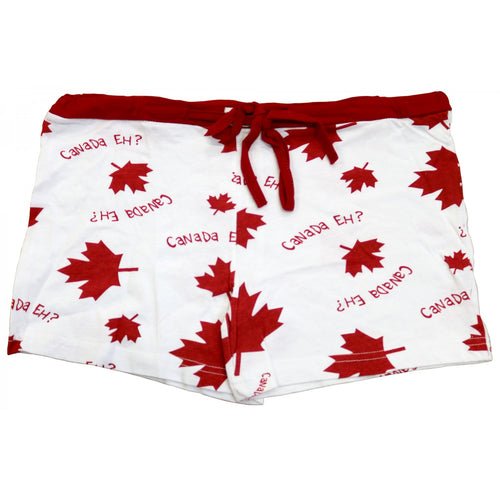 Canada Eh? (White) - Womens Boxer