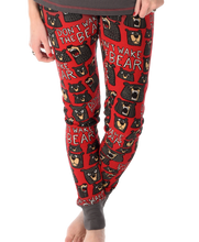 Load image into Gallery viewer, Wake The Bear - Womens PJ Leggings