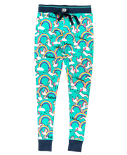 Load image into Gallery viewer, I Believe Unicorn - Womens PJ Leggings