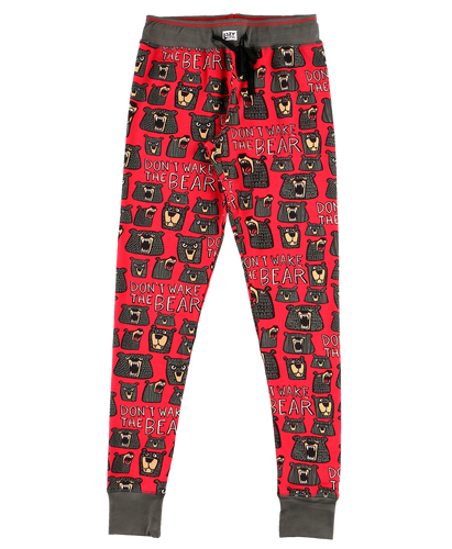 Wake The Bear - Womens PJ Leggings