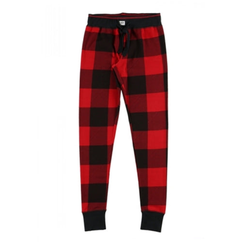 Sawing Logs Red Plaid - Womens PJ Leggings