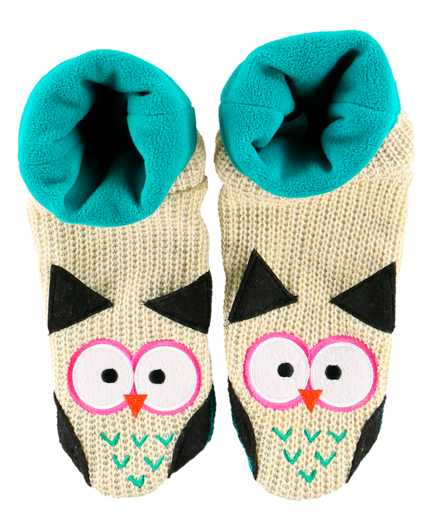 Owl - Woodland Slippers
