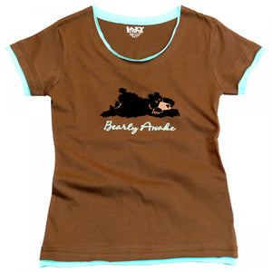 Bearly Awake - Fitted T-Shirt