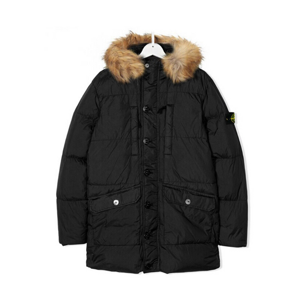 Junior Parka With Fur