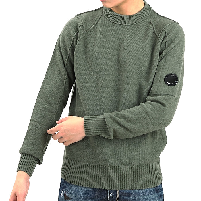KNITTED LENS SWEATSHIRT