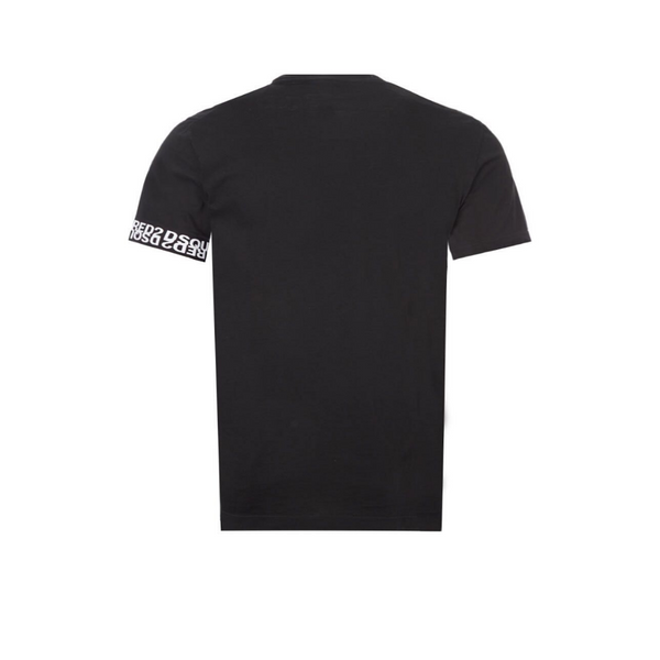 BLACK TEE WITH BAND