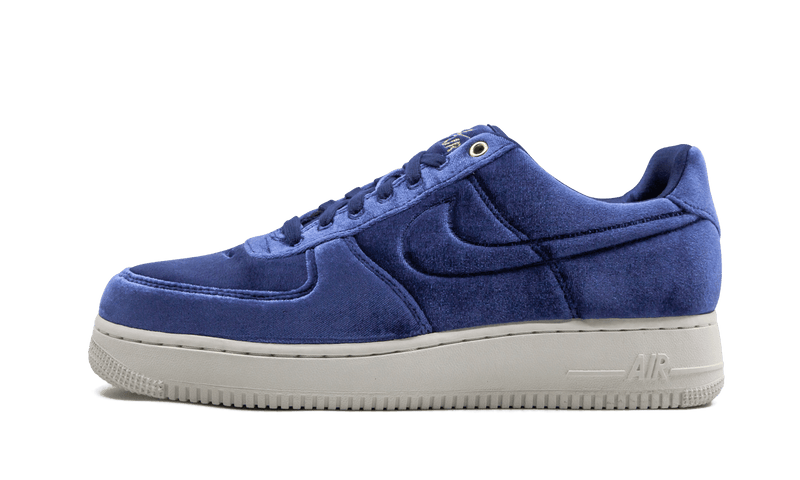 "Nike Air Force one 07 PRM 3  ""Blue Velour"""