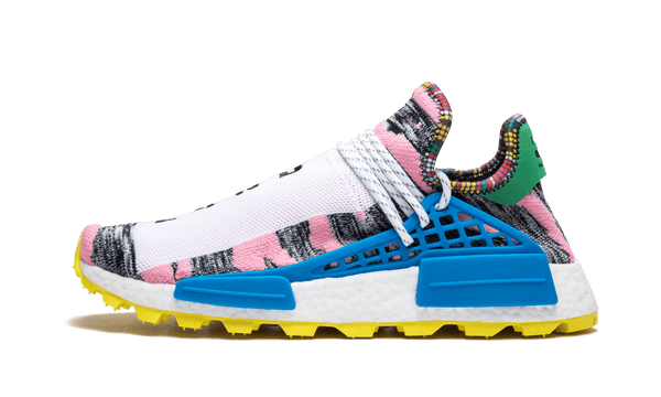 "The Pharrell x adidas NMD Hu Tr ""MOTH3R"" Dimension London"