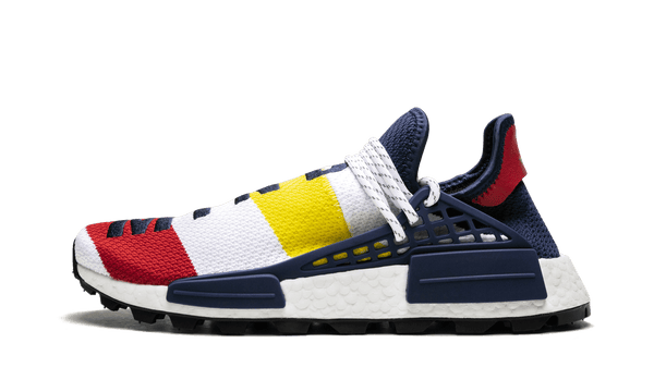"The BBC x Pharrell x adidas NMD Hu ""Heart & Mind"" Dimension London"