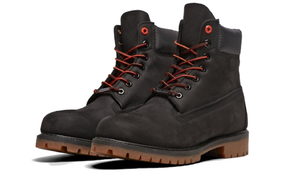Timberland 6'' Premium Boot in Black Nubuck