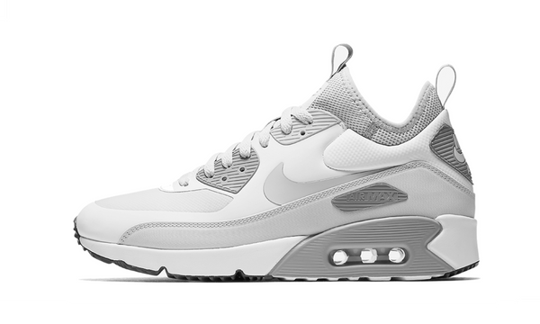 Air Max 90 Ultra Mid Winter 'Pure Platinum'