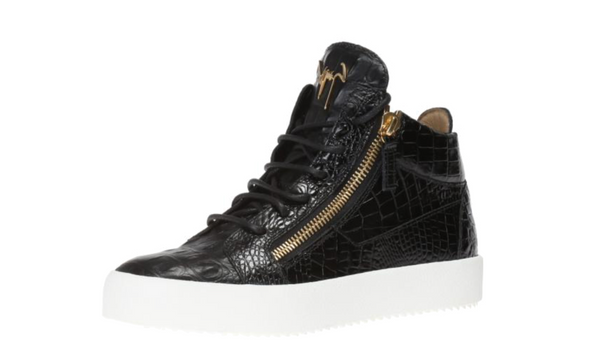 Black 'Kriss' lace-up ankle boots from Giuseppe Zanotti