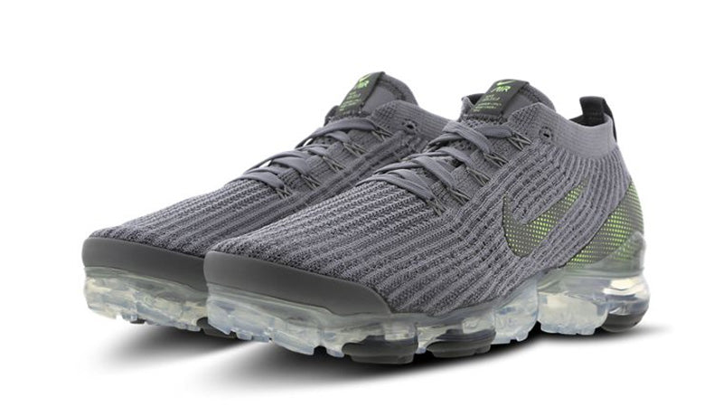 "AIR VAPORMAX FLYKNIT 3 ""PARTICLE GREY/IRON GREY/GHOST GREEN"""