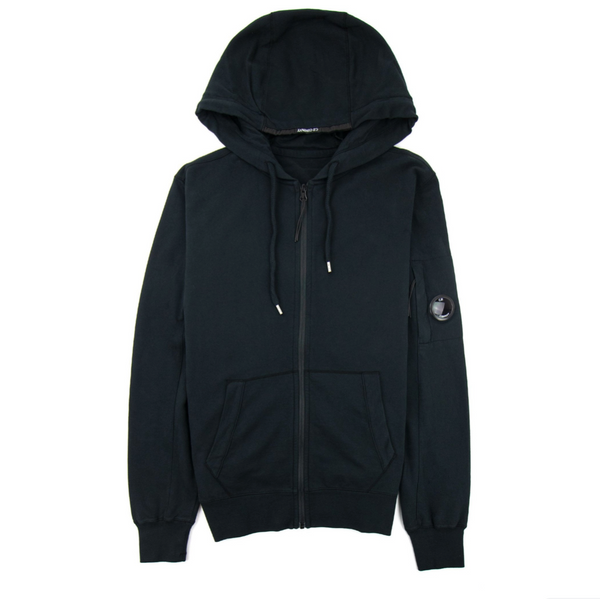 LIGHT FLEECE HOODED LENS SWEATSHIRT