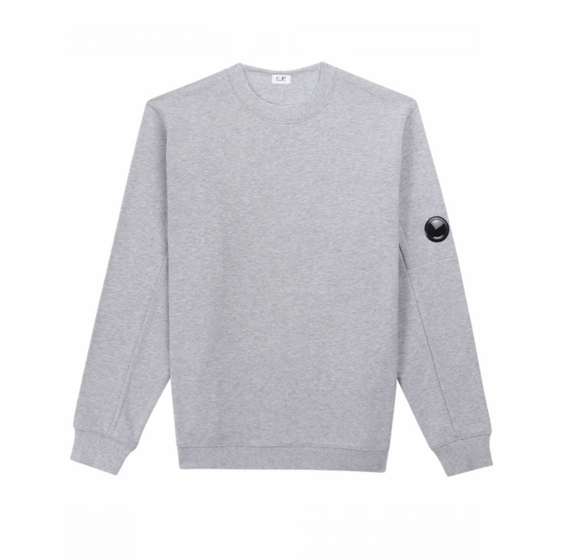 DIAGONAL FLEECE LENS SWEATSHIRT