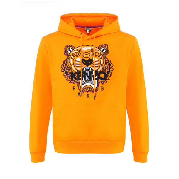 EMBROIDED TIGER HOODIE