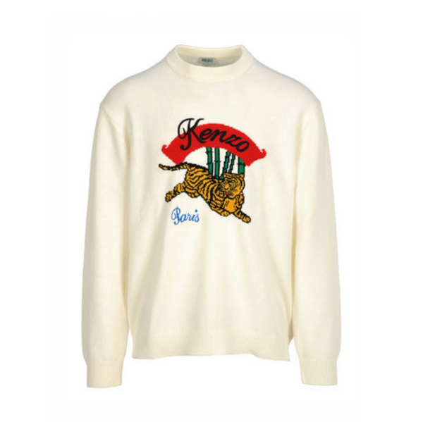 TIGER LAYING SWEATSHIRT
