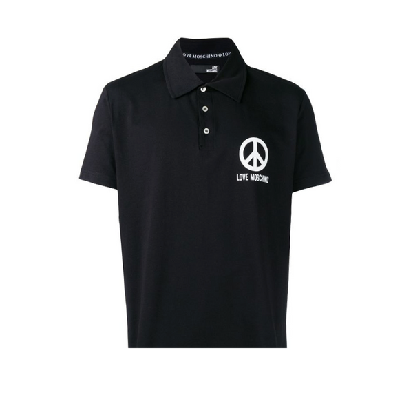 logo polo t-shirt