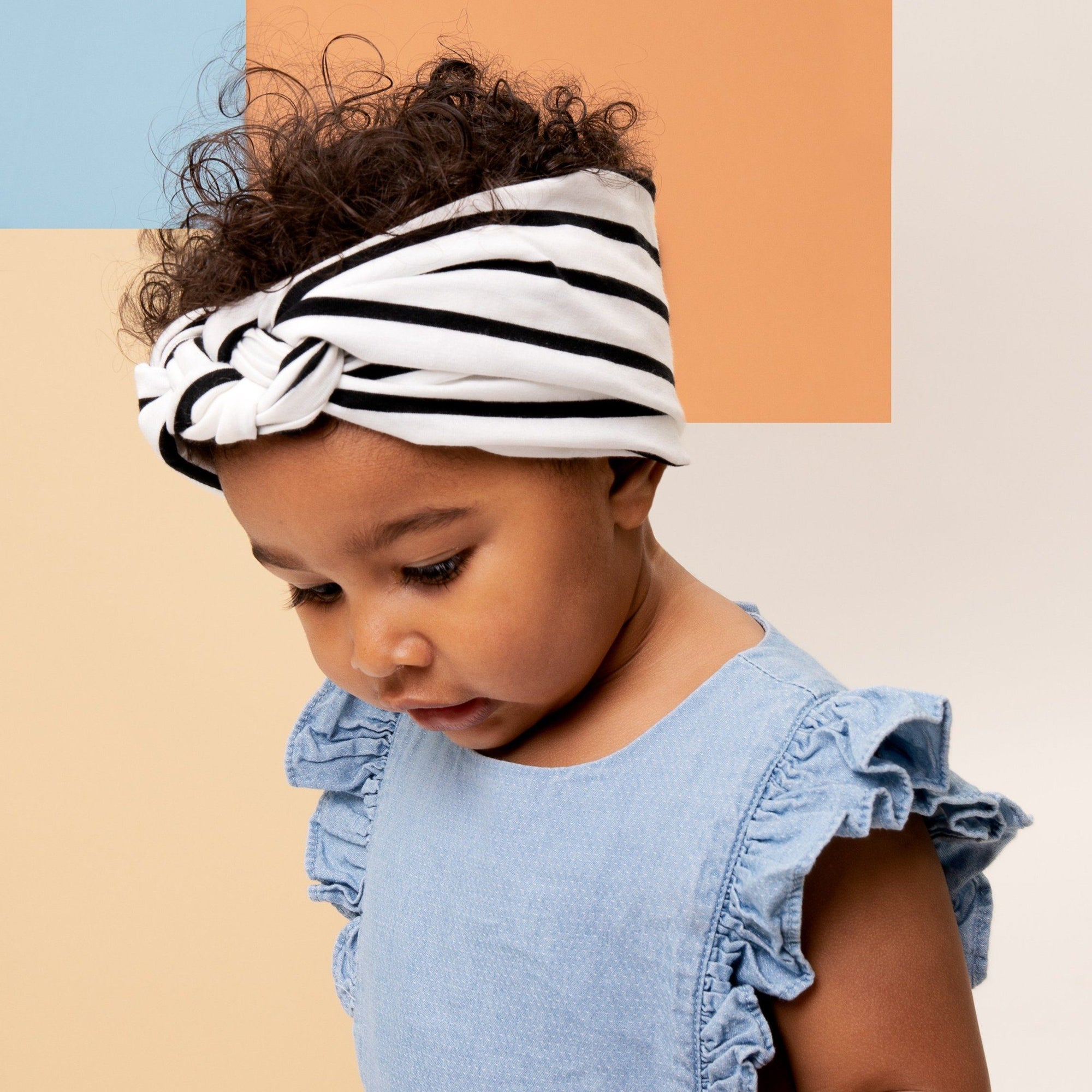 Sailor headband - POEMA Birth band Adult hat chimio cap