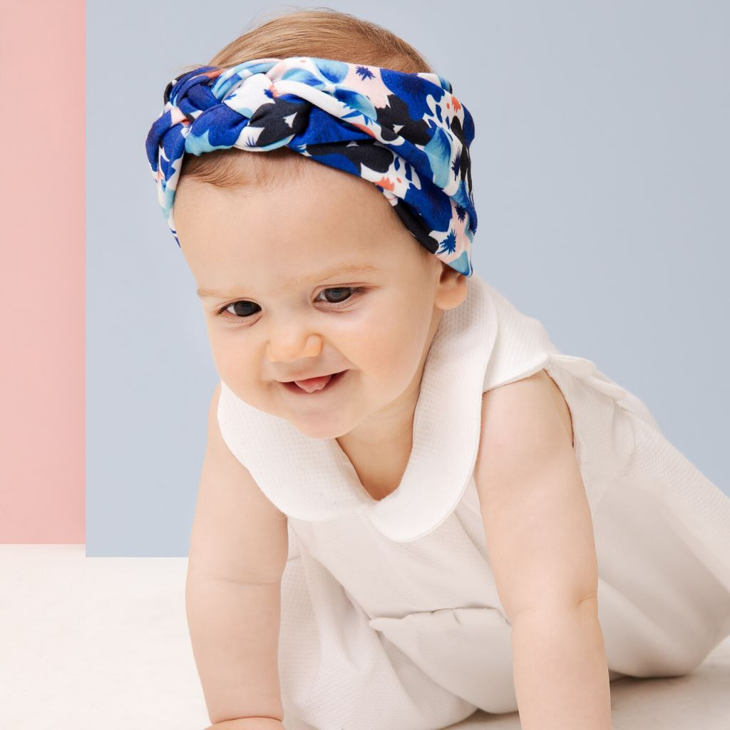 Sailor headband - ANAIS Birth band Adult hat chimio cap