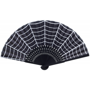 Spiderweb Compact Folding Fan