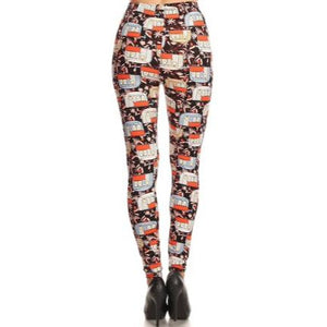 Summer Campers Leggings