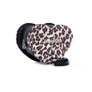 Mini Love you tote-Brown Leopard