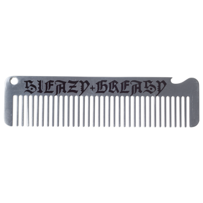 Sleazy & Greasy Metal Comb