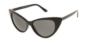 Thin Cateye Sunglasses,Plastic