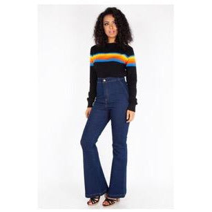 Voodoo Vixen High Waisted  Bell Bottoms