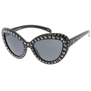 Studded Cat Eye Sunglasses